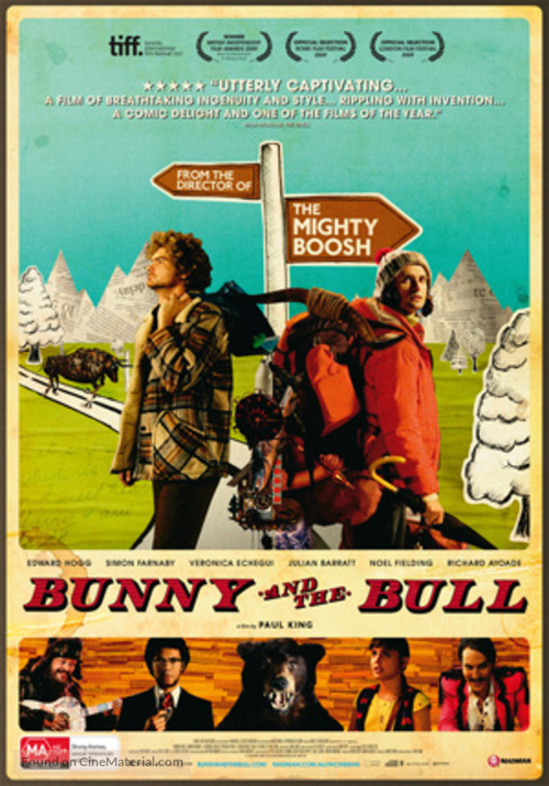 Bunny and the Bull - Australian Movie Poster