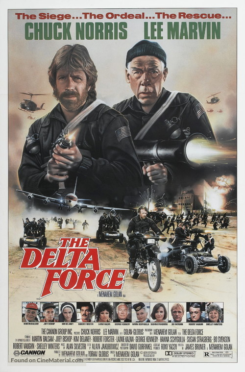 The Delta Force - Movie Poster