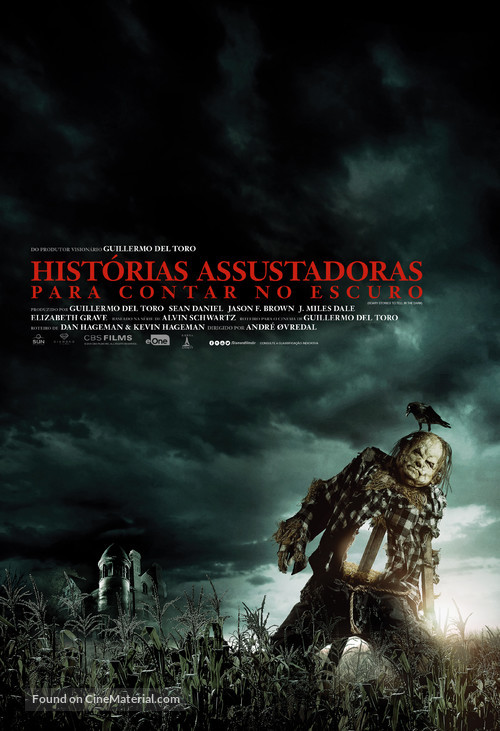 Scary Stories to Tell in the Dark - Brazilian Movie Poster
