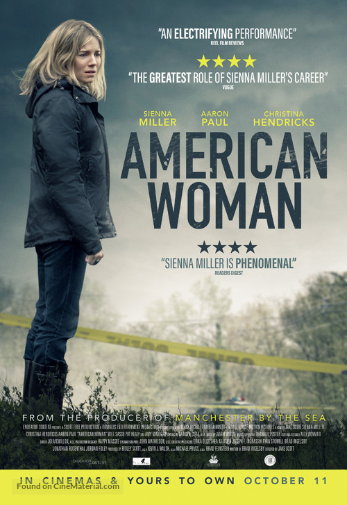American Woman - British Movie Poster