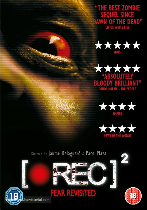 [Rec] 2 - British DVD movie cover