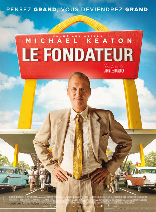 The Founder - French Movie Poster