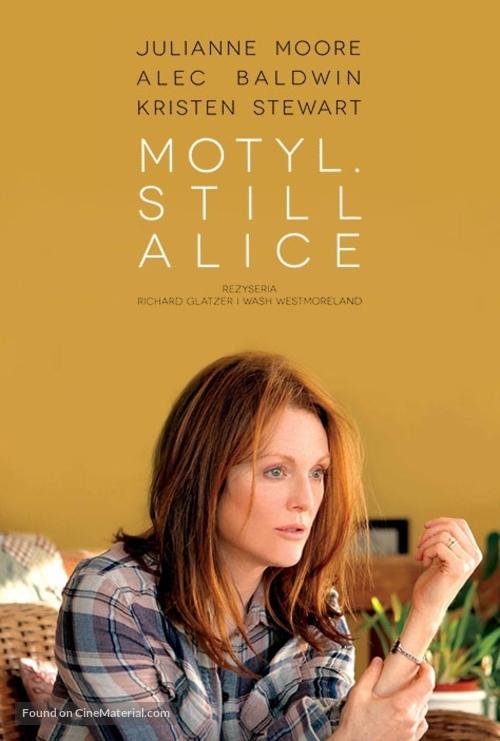 Still Alice - Polish Movie Poster