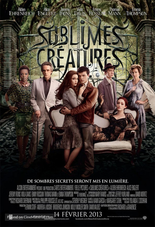 Beautiful Creatures - Canadian Movie Poster