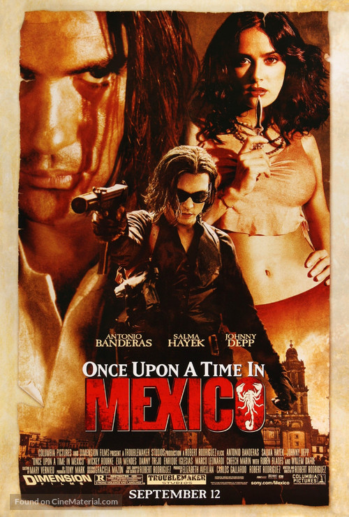 Once Upon A Time In Mexico - Movie Poster