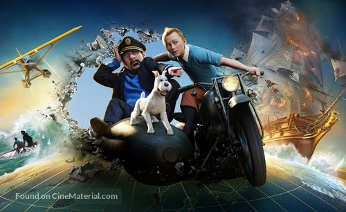 The Adventures of Tintin: The Secret of the Unicorn - Key art