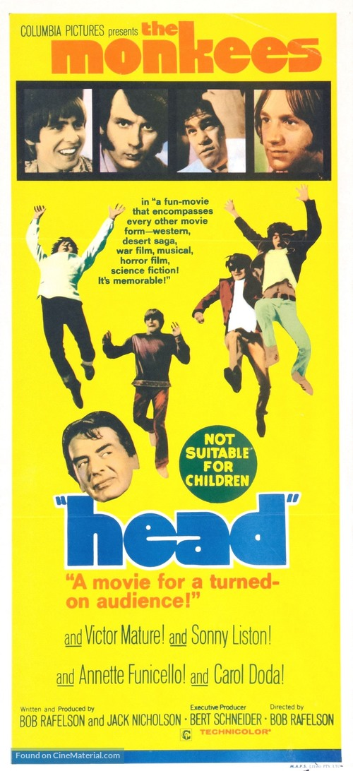 Head - Australian Movie Poster