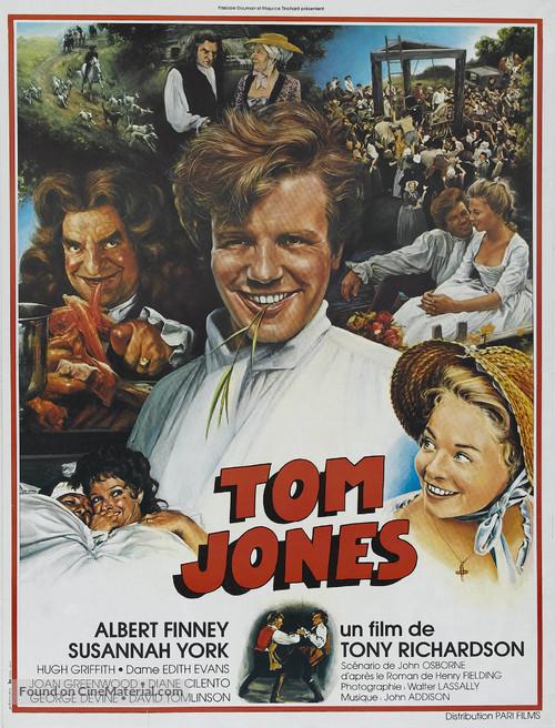 Tom Jones - French Movie Poster