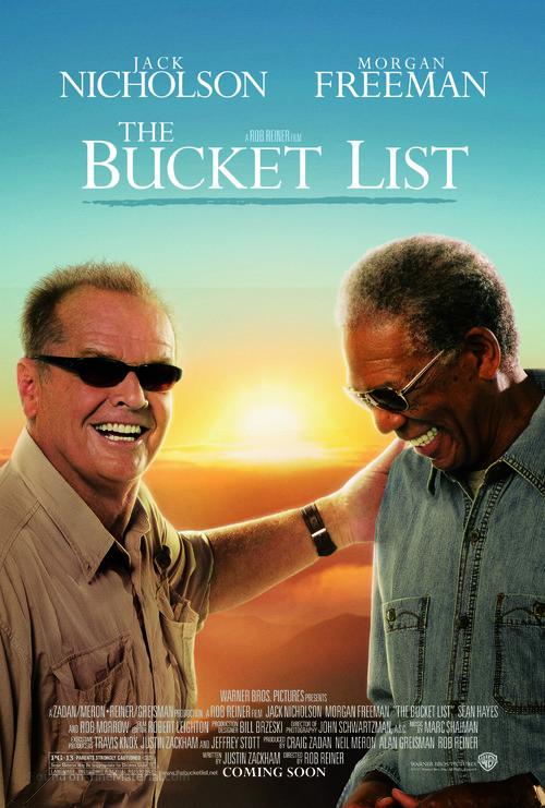 The Bucket List - Advance poster
