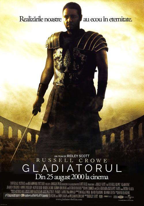 Gladiator - Romanian Movie Poster