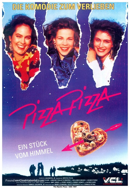 Mystic Pizza - German Movie Poster