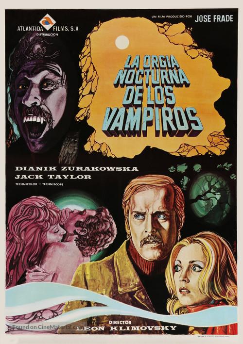 Orgía nocturna de los vampiros, La - Spanish Movie Poster