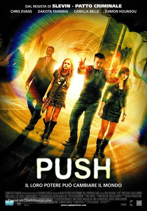 Push - Italian Movie Poster