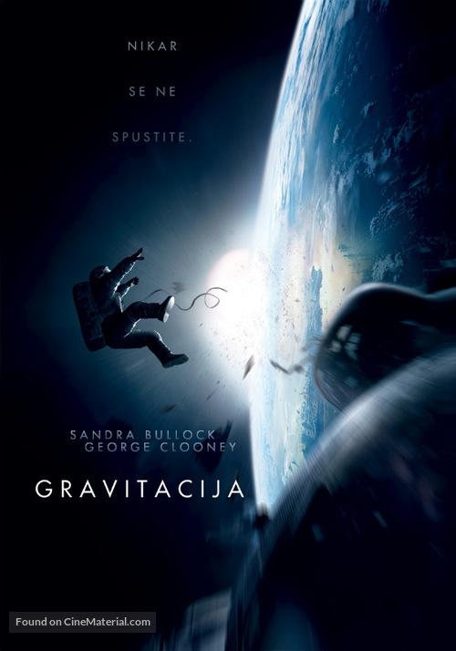 Gravity - Slovenian Movie Poster