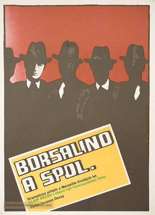 Borsalino and Co. - Polish Movie Poster