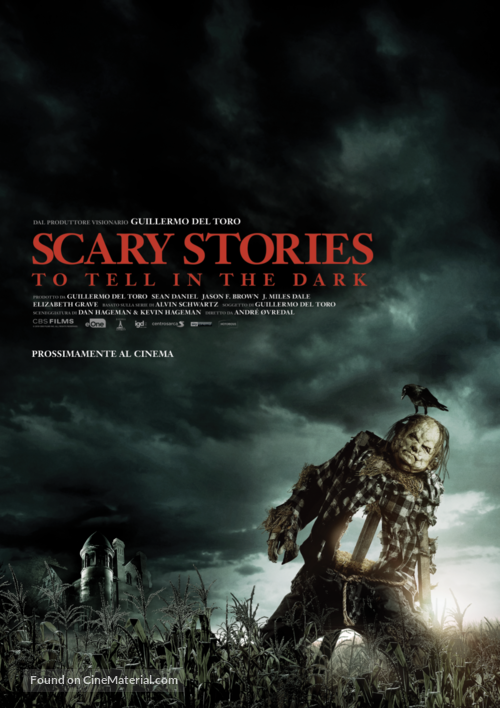 Scary Stories to Tell in the Dark - Italian Movie Poster