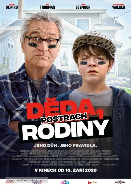 The War with Grandpa - Czech Movie Poster
