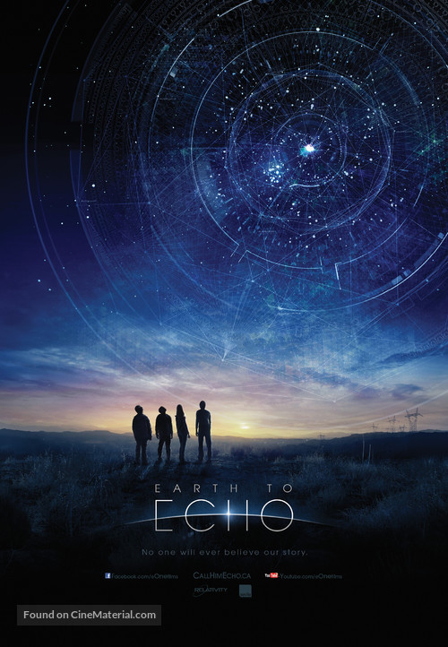 Earth to Echo - Canadian Movie Poster