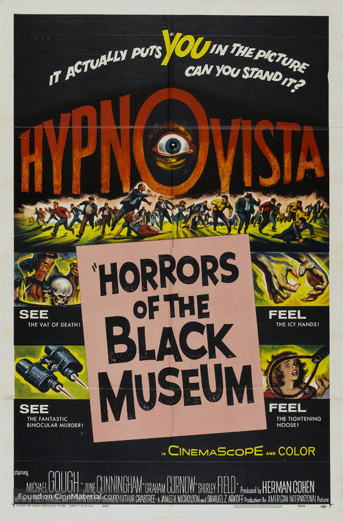 Horrors of the Black Museum - Movie Poster