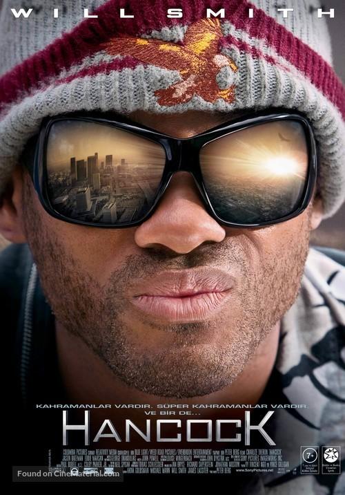Hancock - Turkish Movie Poster