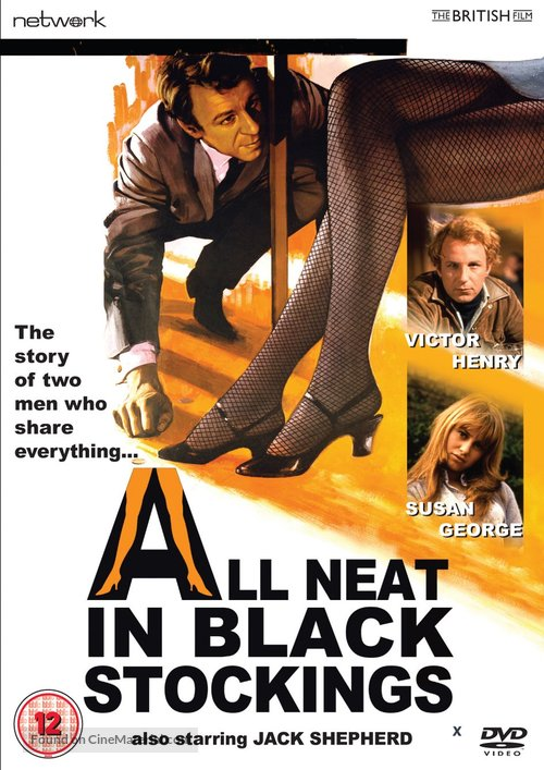 All Neat in Black Stockings - British DVD movie cover