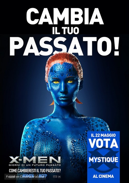 X-Men: Days of Future Past - Italian Movie Poster