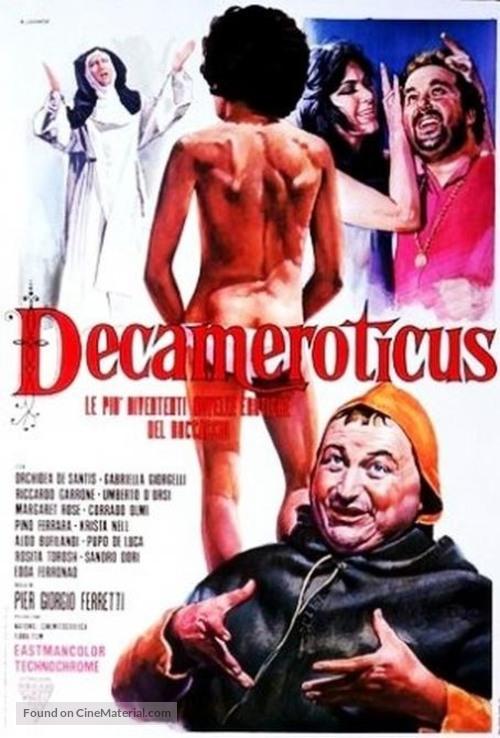 Decameroticus - Italian Movie Poster