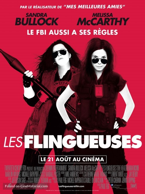 The Heat - French Movie Poster