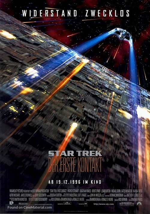 Star Trek: First Contact - German Movie Poster