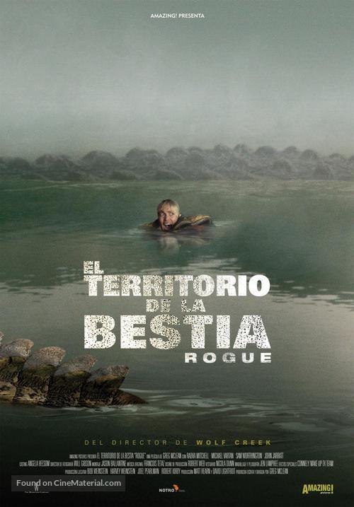 rogue 2007 spanish movie poster rogue 2007 spanish movie poster