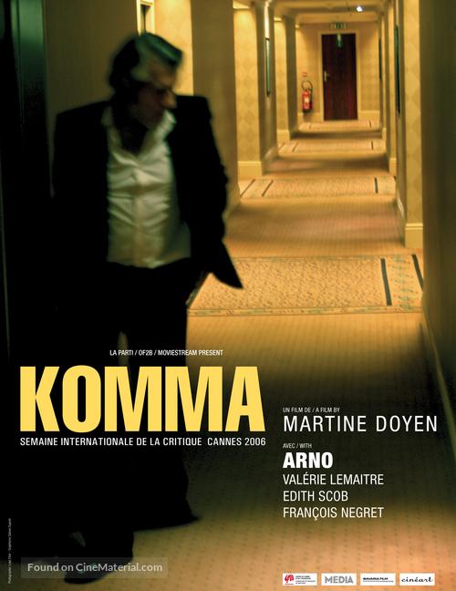 Komma - Belgian poster