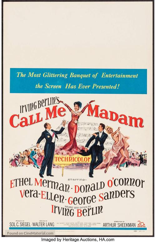 Call Me Madam - Movie Poster