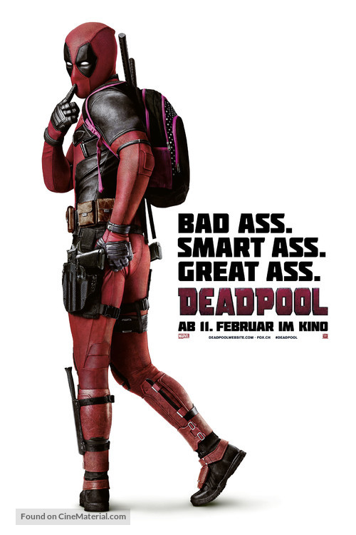 Deadpool - Swiss Movie Poster