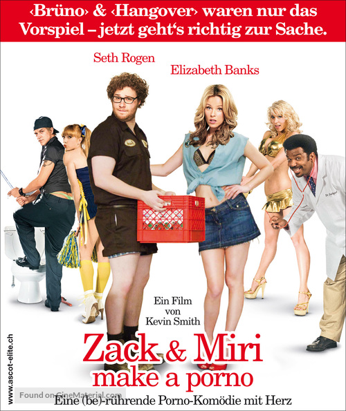Zack and Miri Make a Porno - Swiss Movie Poster