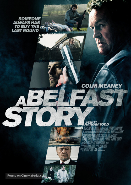 A Belfast Story - British Movie Poster