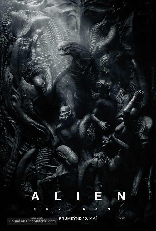 Alien: Covenant - Icelandic Movie Poster