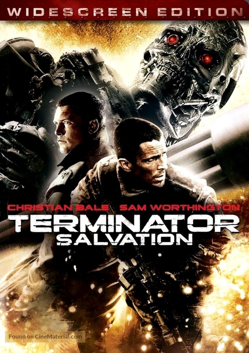 Terminator Salvation - Movie Cover