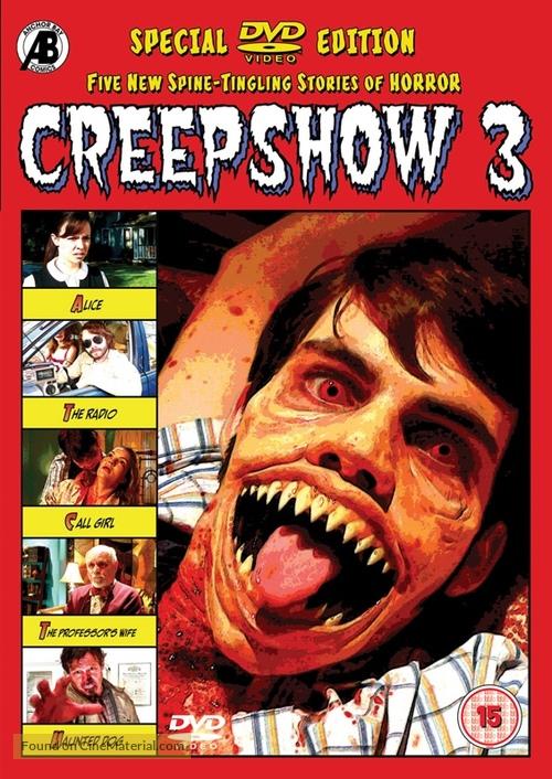 Creepshow 3 - British Movie Cover
