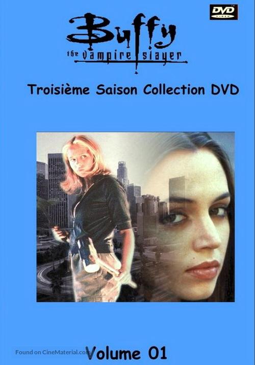 """Buffy the Vampire Slayer"" - French DVD movie cover"