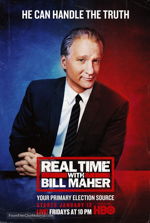 """Real Time with Bill Maher"" - Movie Poster"