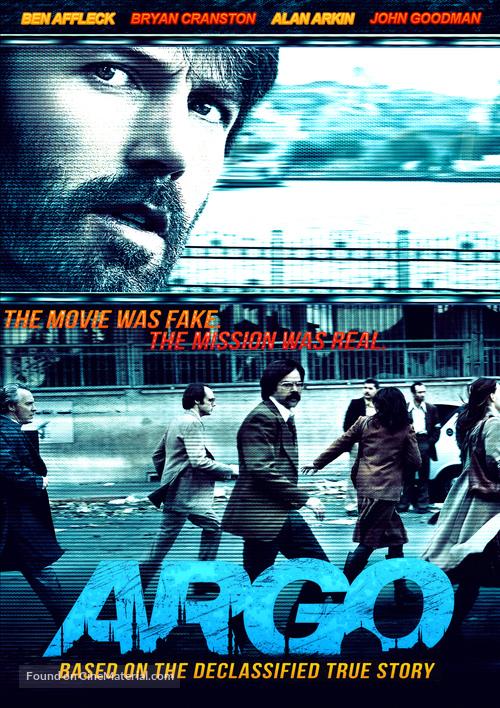 Argo 2012 Dvd Movie Cover