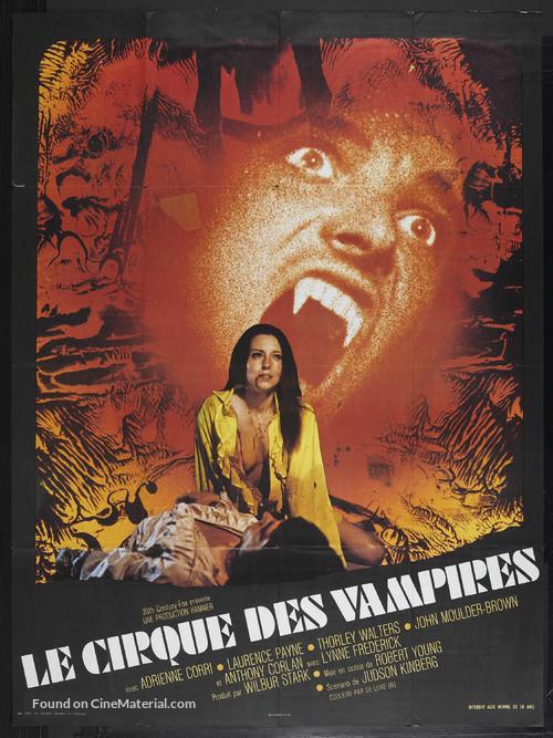 Vampire Circus - French Movie Poster