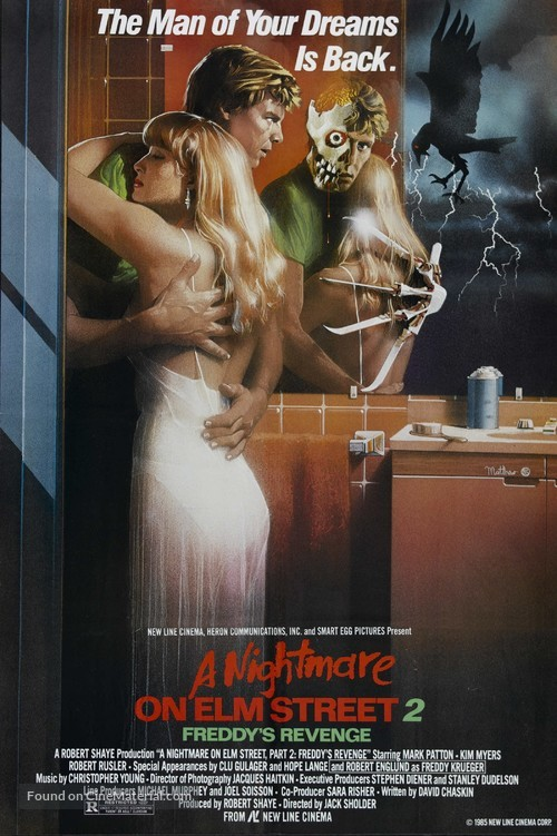 A Nightmare On Elm Street Part 2: Freddy's Revenge - Movie Poster