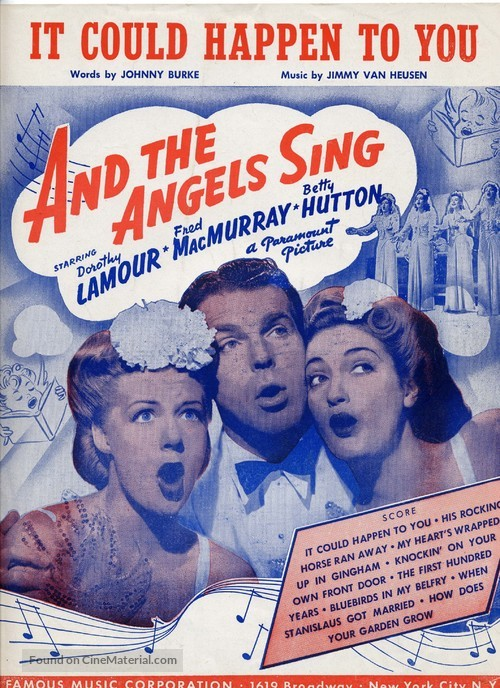 And the Angels Sing - poster