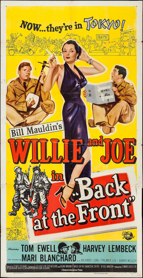 Back at the Front - Movie Poster