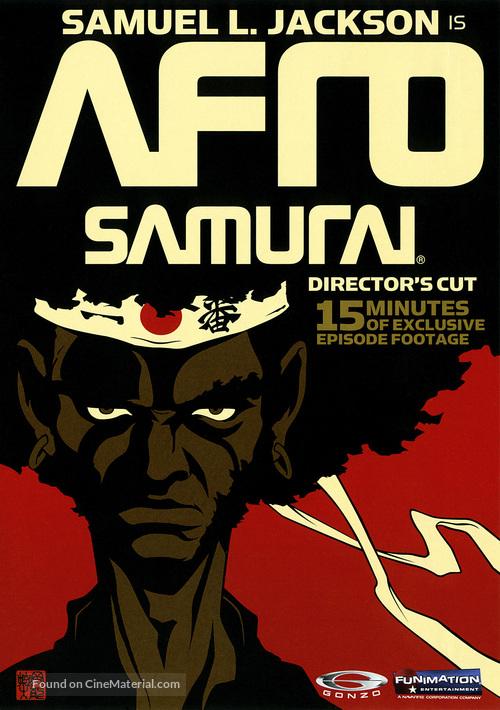 """""""Afro Samurai"""" - Movie Cover"""
