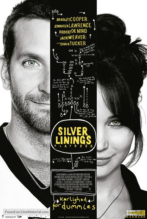 Silver Linings Playbook - Danish Movie Poster