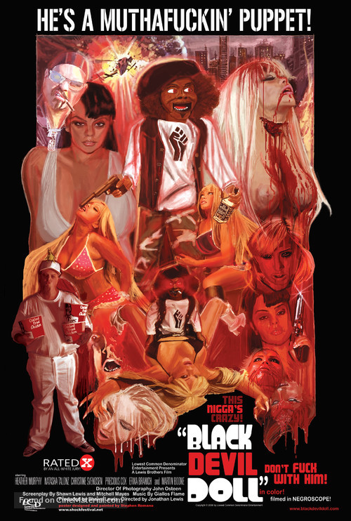 Black Devil Doll - Movie Poster