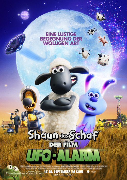 A Shaun the Sheep Movie: Farmageddon - German Movie Poster