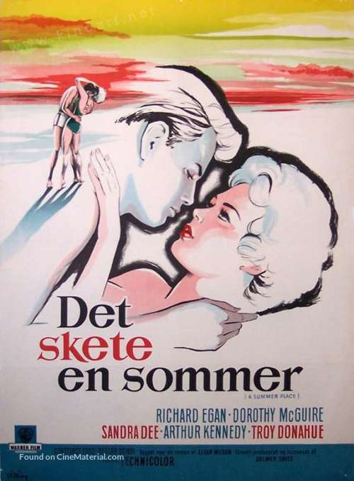 A Summer Place - Danish Movie Poster